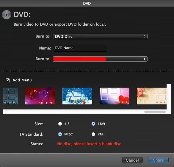 DVD Options