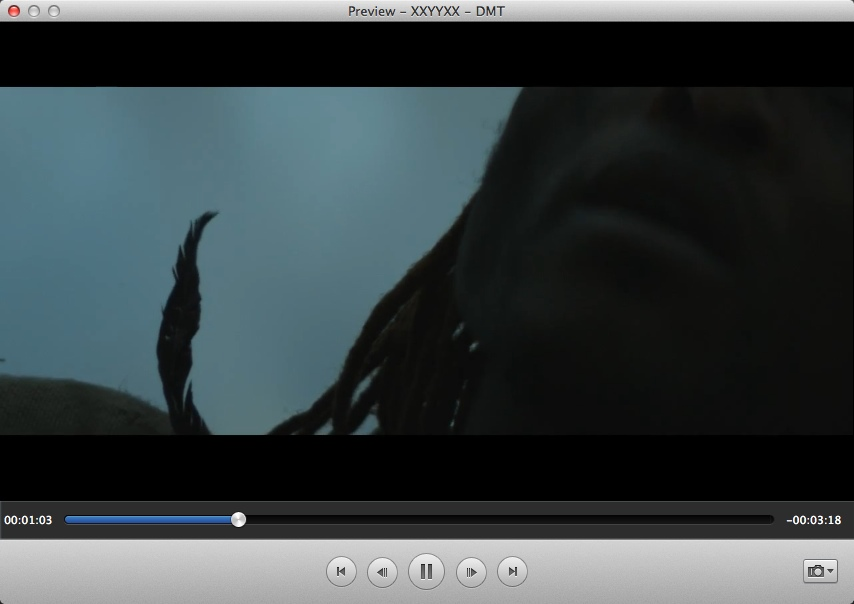 Preview Input Video