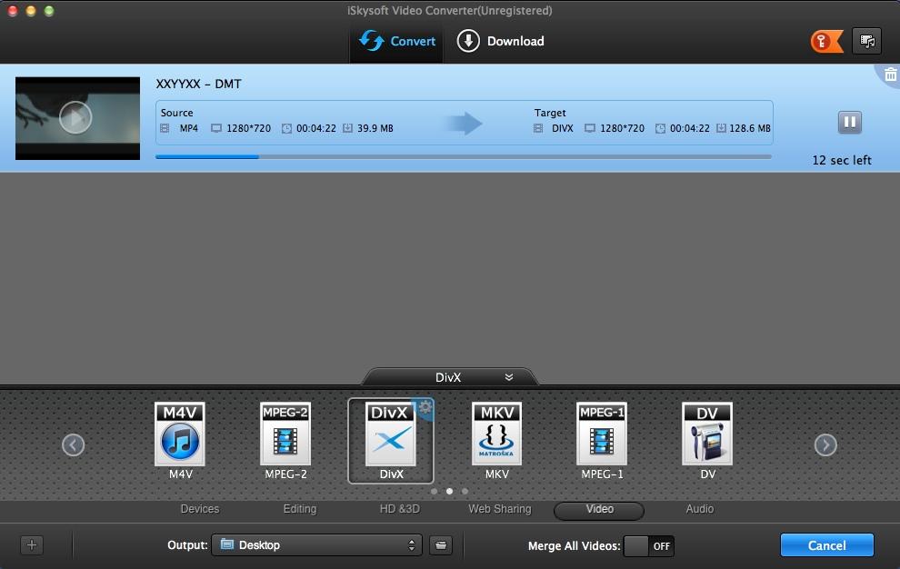 Converting Video File