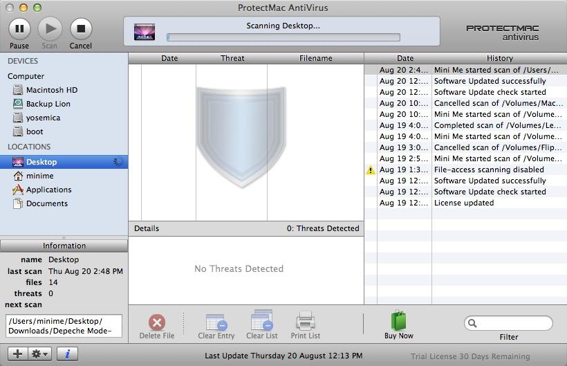 Scanning Folder