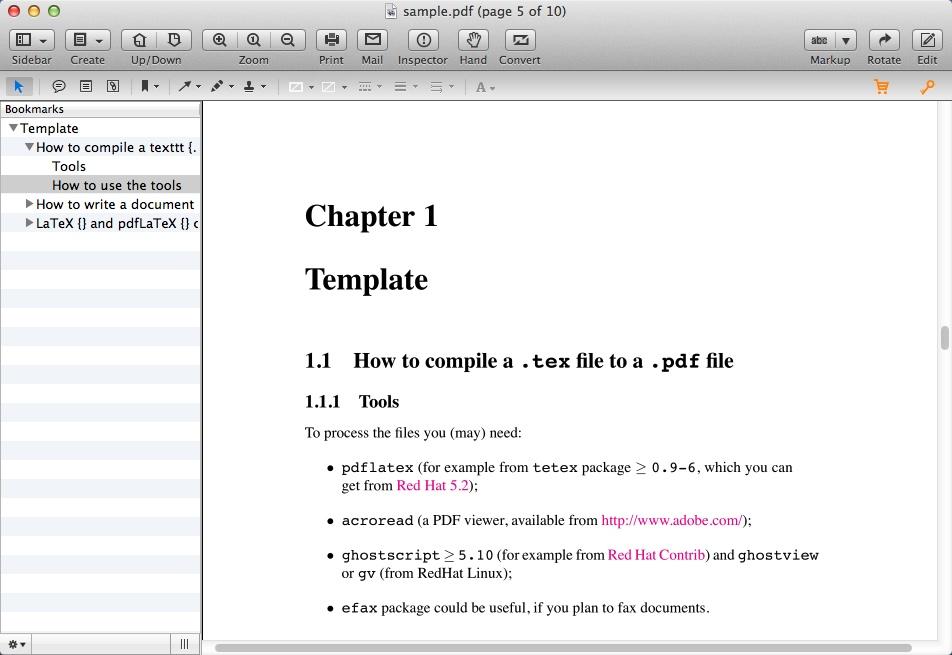Editing PDF File