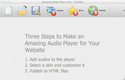 Download free Amazing Audio Player for macOS