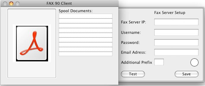 Download free FAX90 Client 1 1 for macOS