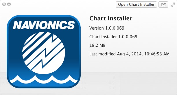 Chart Installer for Mac, It helps you update your chart or