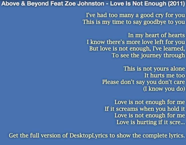 Display Lyrics Window