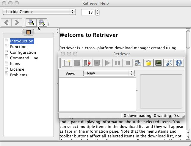 Download free Retriever Download Manager for macOS