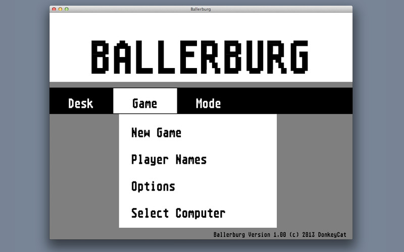 Ballerburg screenshot