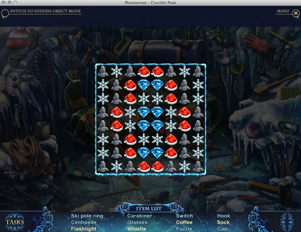 Completing Match-3 Mini-Game