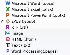 Output Profiles Window