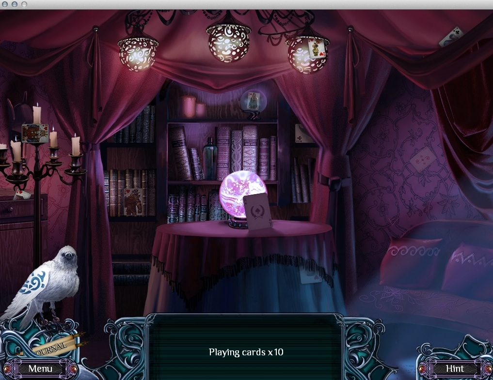 Playing Hidden Object Mini-Game
