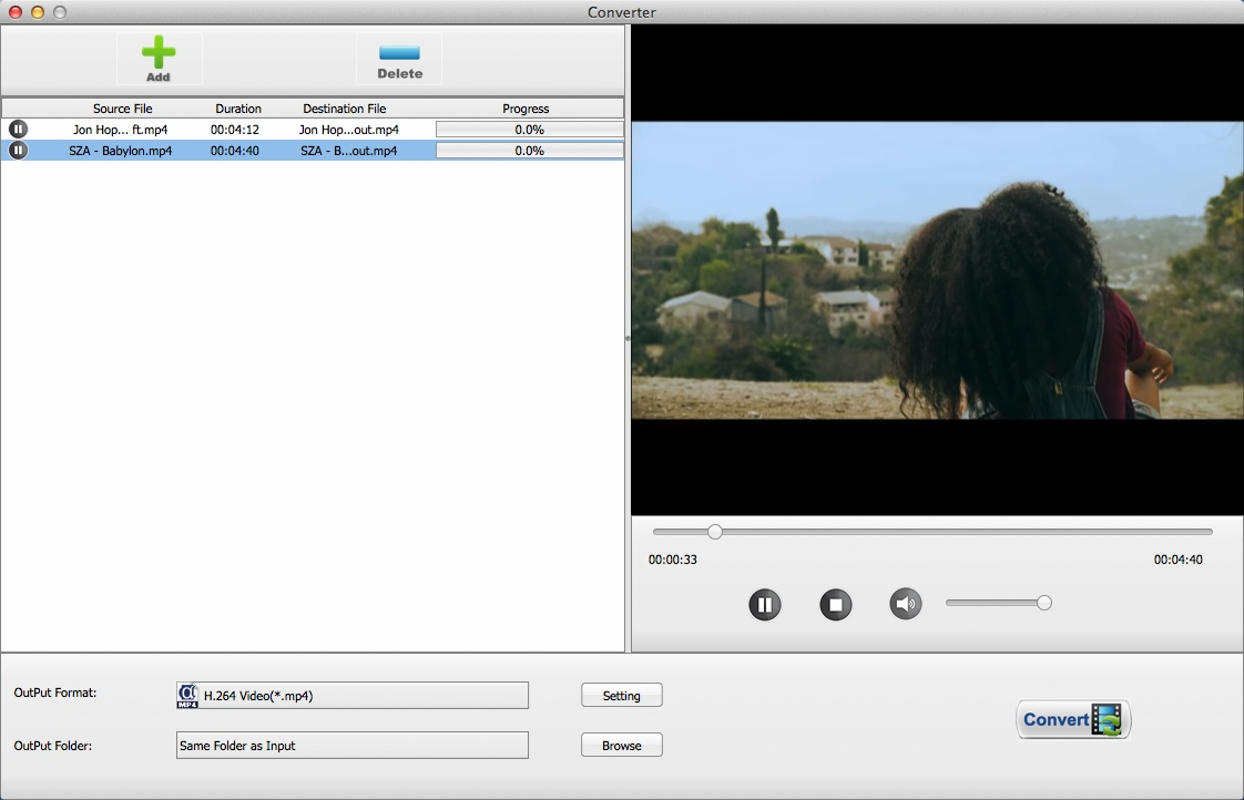 Video Converter Window