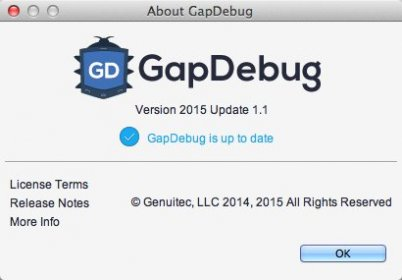 Download free GapDebug for macOS