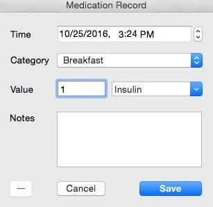 Adding Medical Info