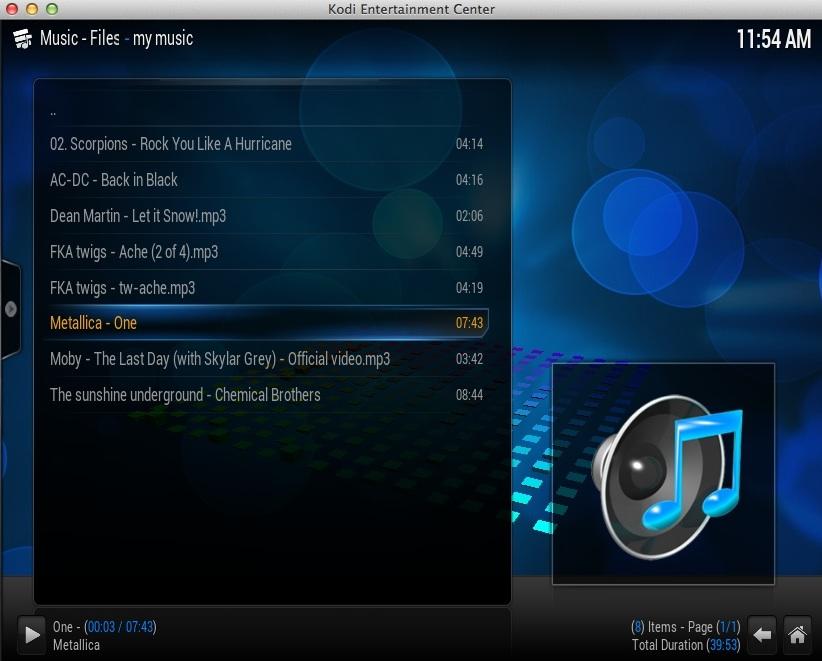 Music Playback Window