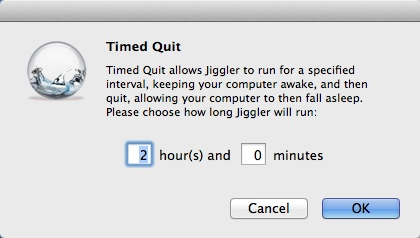 Configuring Timed Quit Options