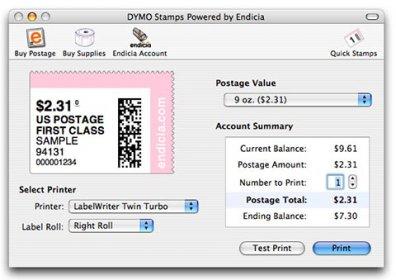 Dymo label mac software