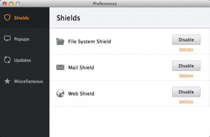 avast mail shield security exclusion
