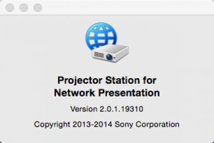 Download free Projector Station for Network Presentation for