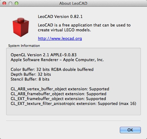Download free LeoCAD for macOS