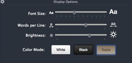 Configuring Display Settings