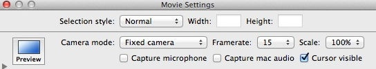 Configuring Video Recording Settings