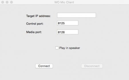 Download free WO Mic Client for macOS