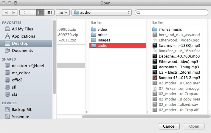 Importing MP3 File