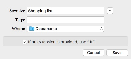 Exporting To-Do List