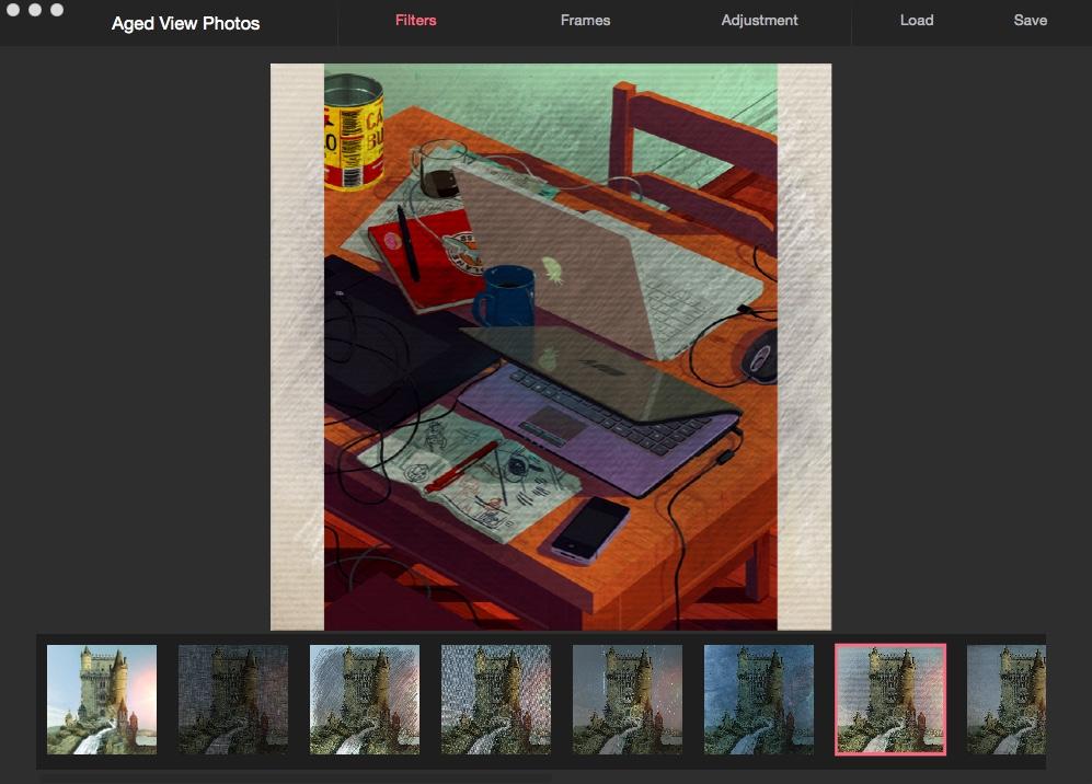 Selecting Visual Effect