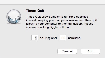 Configuring Timed Quit Settings