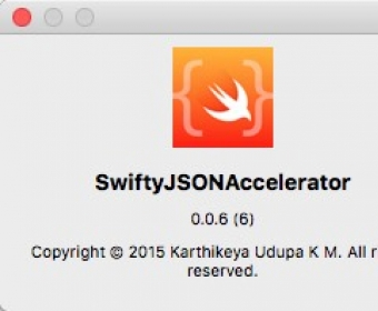 Download free SwiftyJSONAccelerator 0 0 for macOS