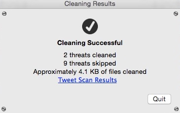 Checking Cleaning Results
