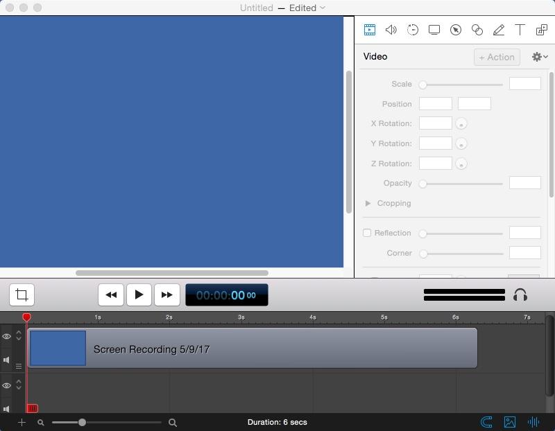 Editing Video Recording