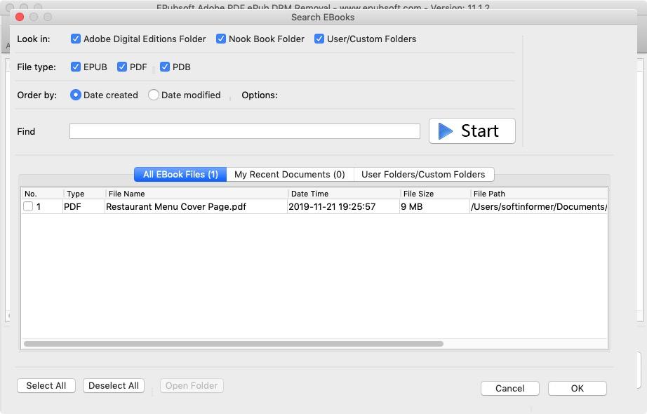 Search ebooks