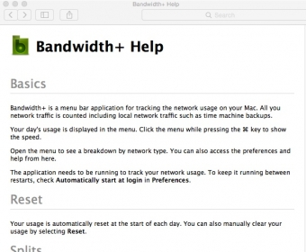Download free Bandwidth+ 1 8 for macOS