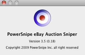 Download Free Powersnipe Ebay Auction Sniper For Macos