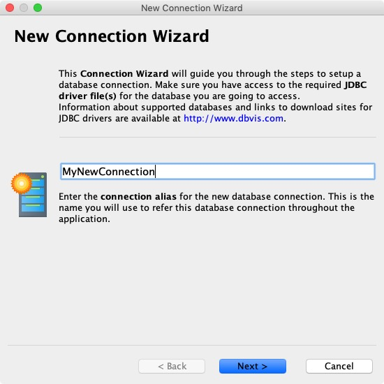 New Connection Wizard 1