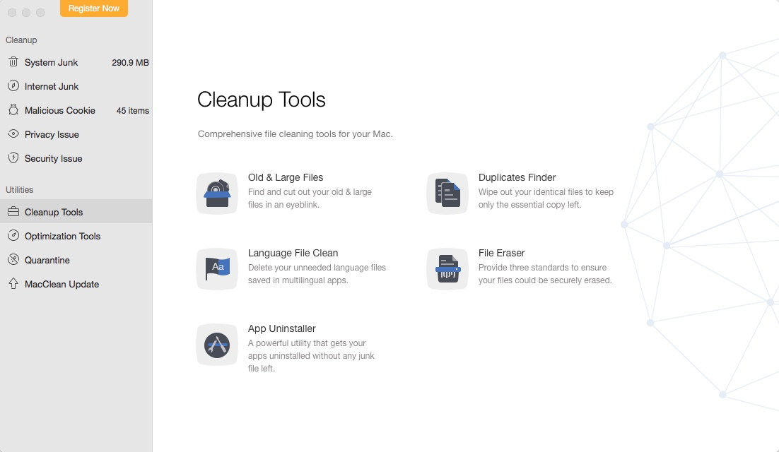 Cleanup Tools