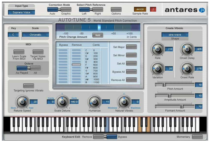 Download free Auto-Tune 5 RTAS for macOS