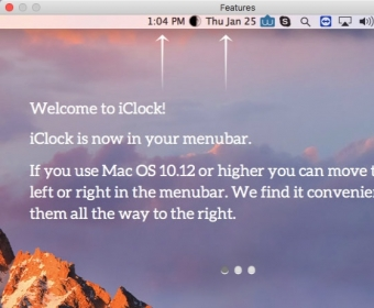 Download free iClock for macOS