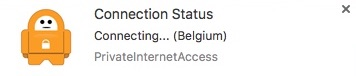 Connection Status Notification