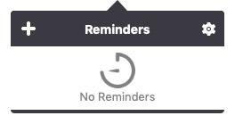 Add Reminder