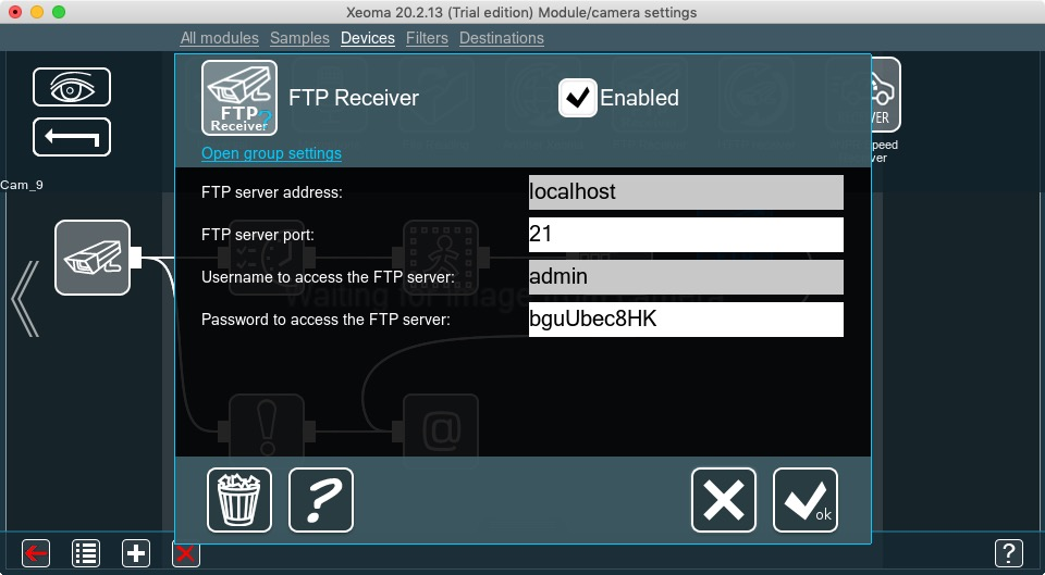 FTP Receiver