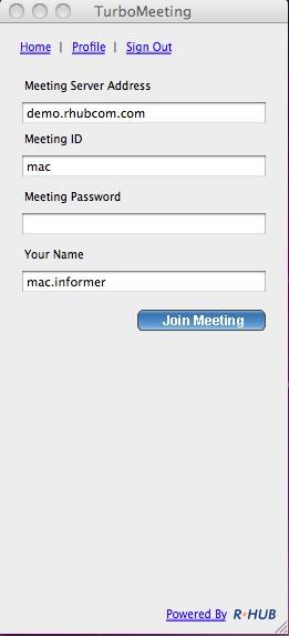 turbomeeting mac