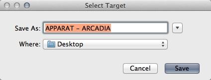 Selecting Destination Folder