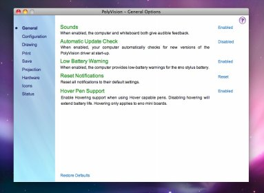 polyvision driver downloads