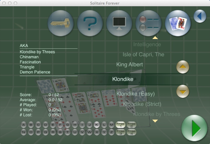 Selecting Game Type
