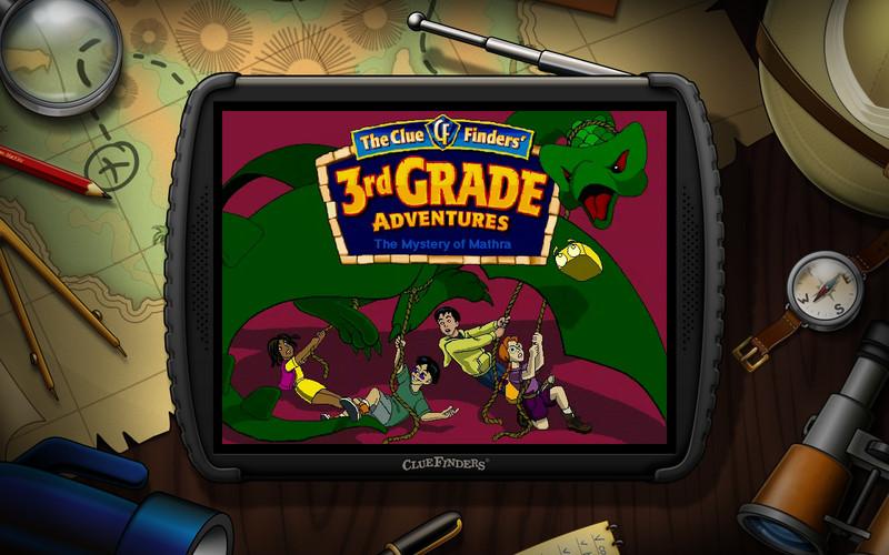 ClueFinders 3rd Grade screenshot