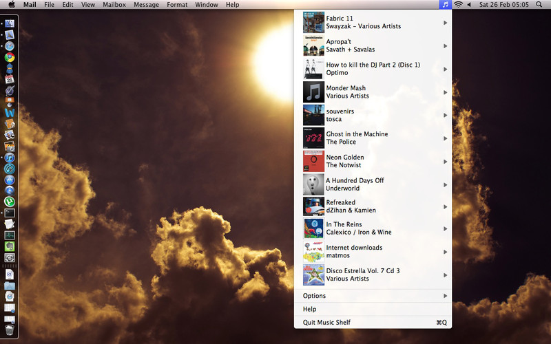 Music Shelf screenshot
