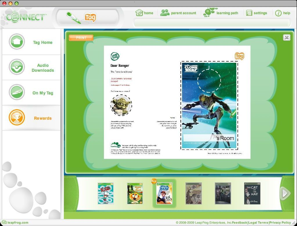 LeapFrog Connect for Tag Reading System